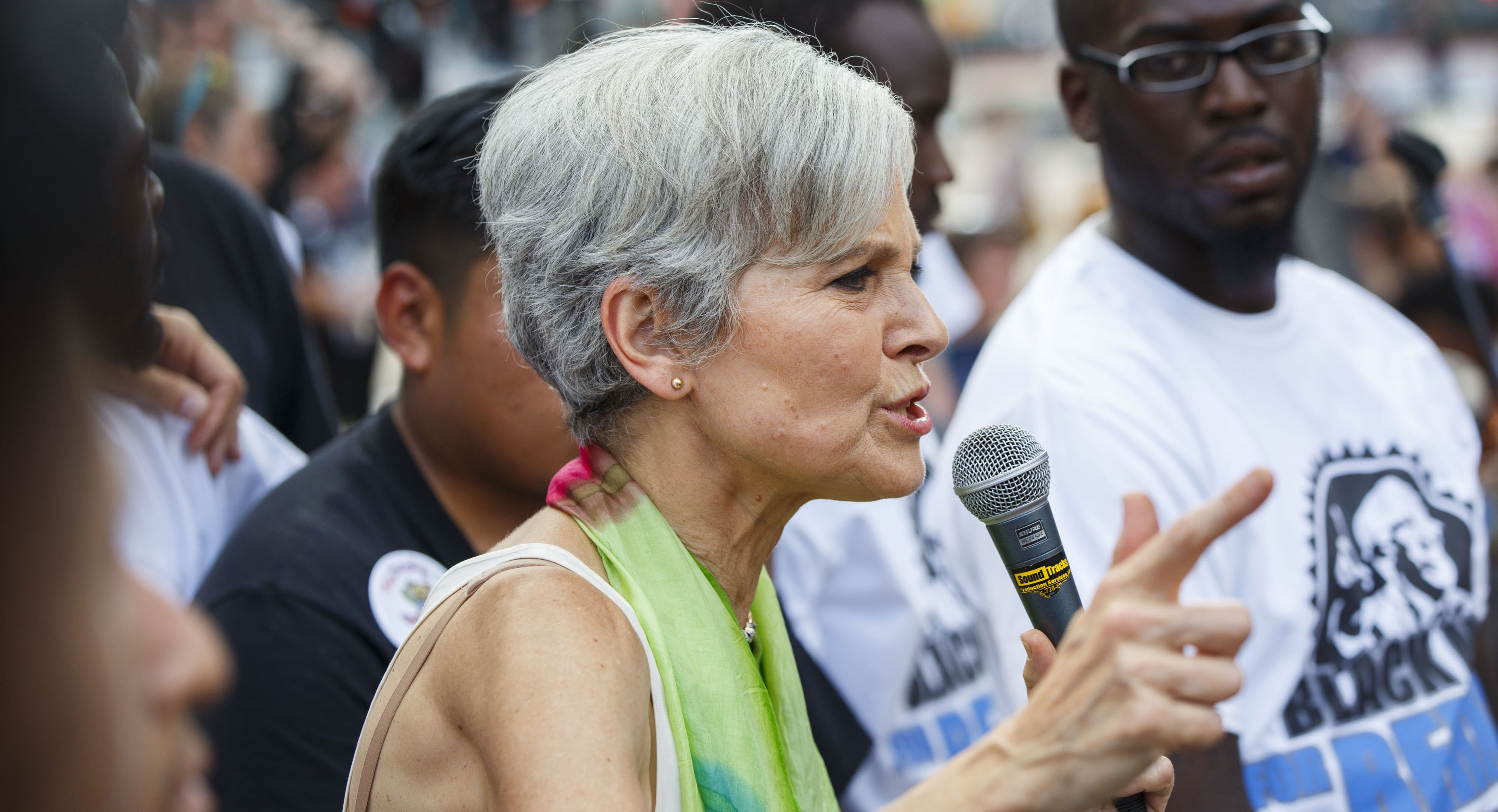 stein and her supporters plan to hold a let jill debate protest