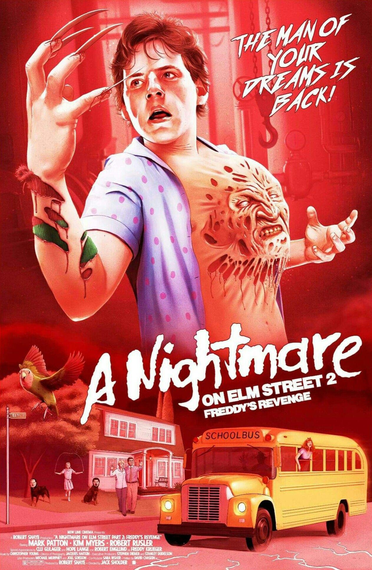 A Nightmare On Elm St 2 Freddy S Revenge In 2020 Horror Movie Icons Nightmare On Elm Street A Nightmare On Elm Street
