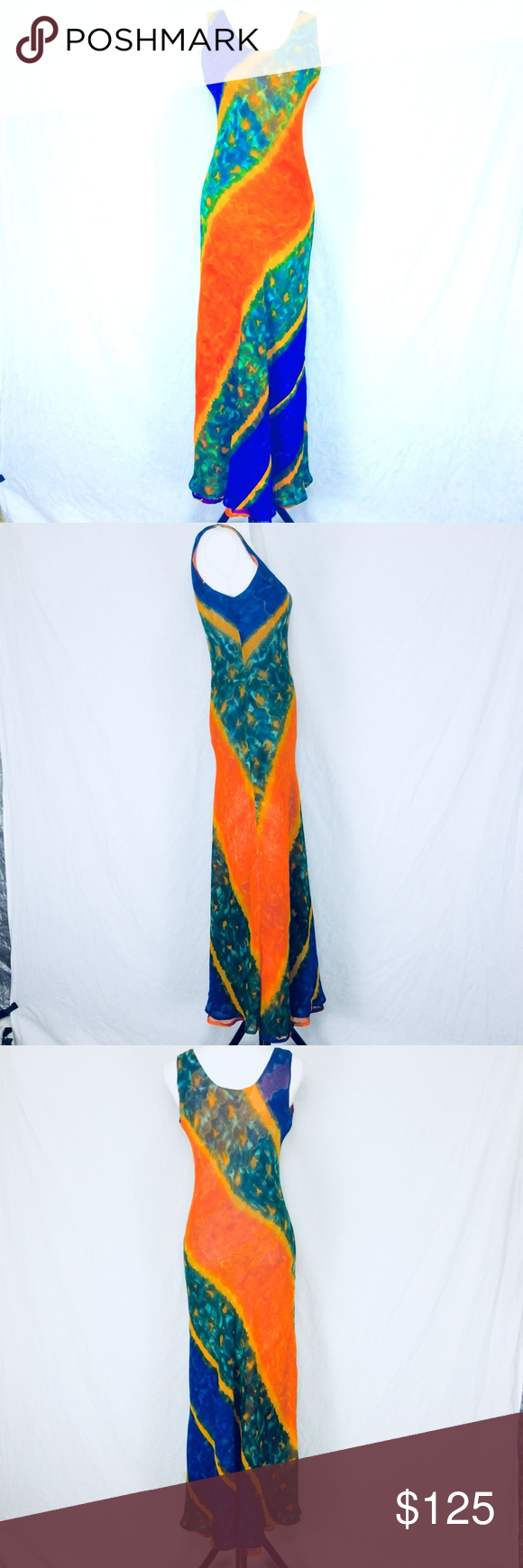 44722c6e29f I just added this listing on Poshmark  Ash   Sara Sm Long Colorful Summer  Maxi Dress.  shopmycloset  poshmark  fashion  shopping  style  forsale  Ash    Sara ...