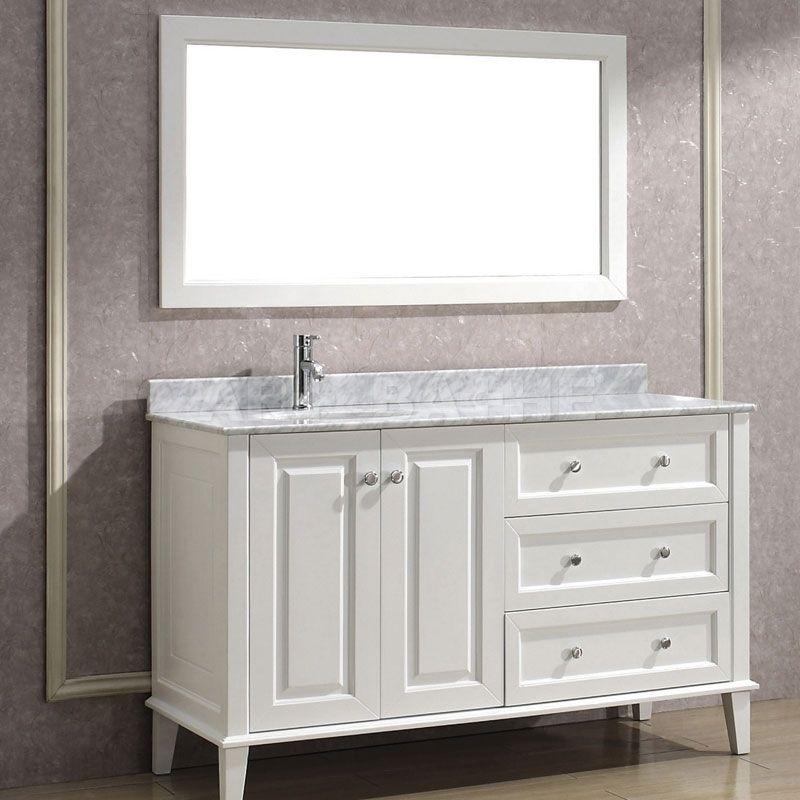 art bathe lily 55 white bathroom vanity http www. Black Bedroom Furniture Sets. Home Design Ideas
