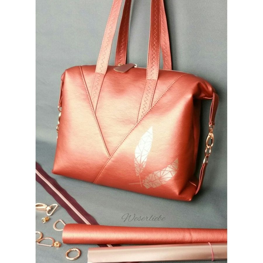 Schnittmuster Tasche Leene von Zaubernahnna | Сумки