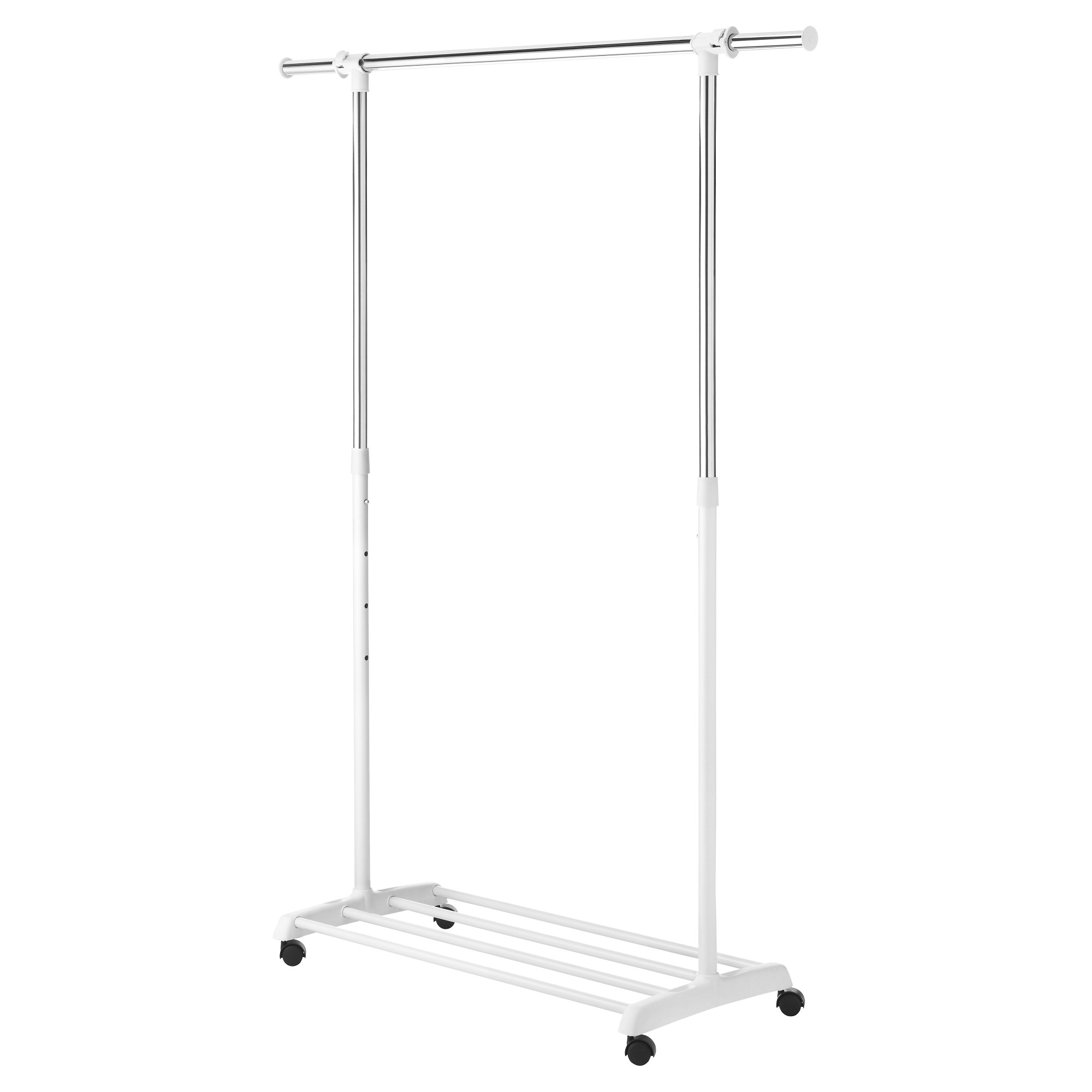 Whitmor Deluxe Adjule Garment Rack White