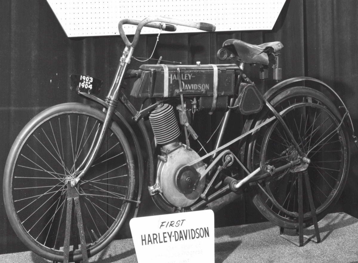 Pic Of The 1st Harley Davidson Motorcycle Harley Davidson 1903