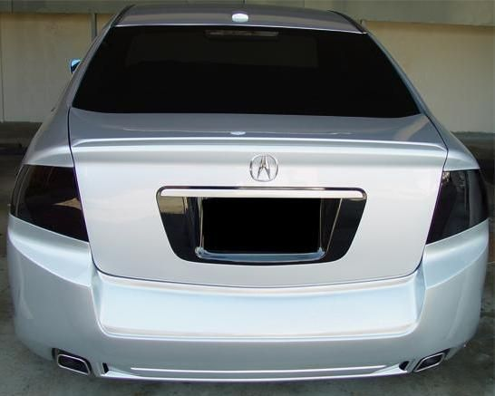 Acura TL Tail Light Smoked Tint Covers EBay TLS - Acura tl taillights