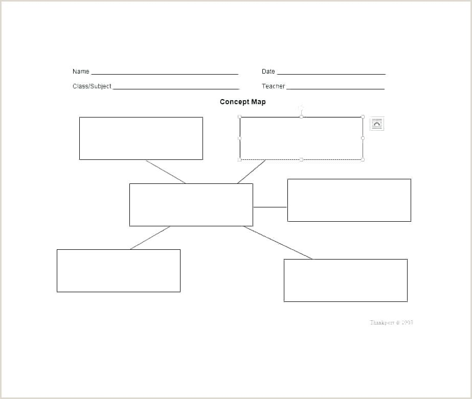 Concept Map Microsoft Word Concept Map Concept Map Template