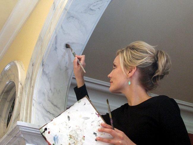 Magnificent Decorative Painting Techniques For Creative Wall Design Download Free Architecture Designs Parabritishbridgeorg