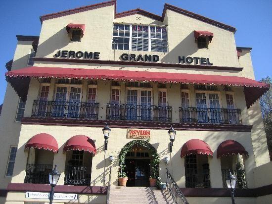 The Asylum Restaurant Jerome Az The View Is Terrific And