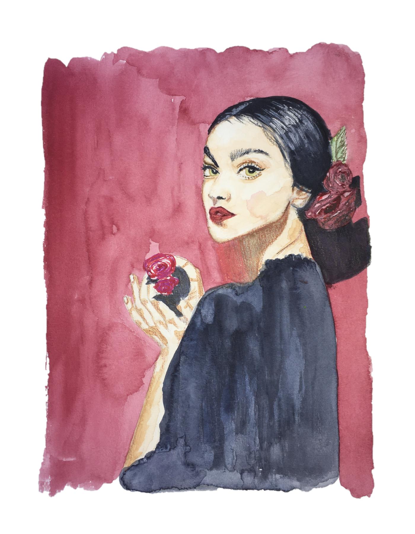#watercolorportret #zhenyakatava #watercolorillustration