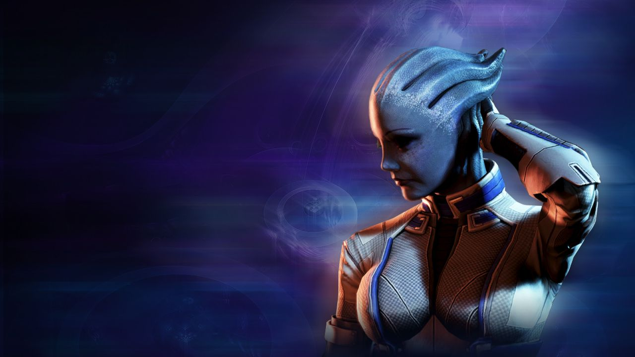 Liara Tsoni Liara Mass Effect Mass Effect 3 Mass Effect Video