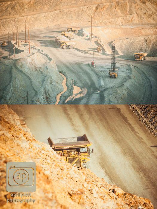 #mine #copper #kennecott #utah #photography  Kennecott Copper Mine outside Salt Lake City, Utah.
