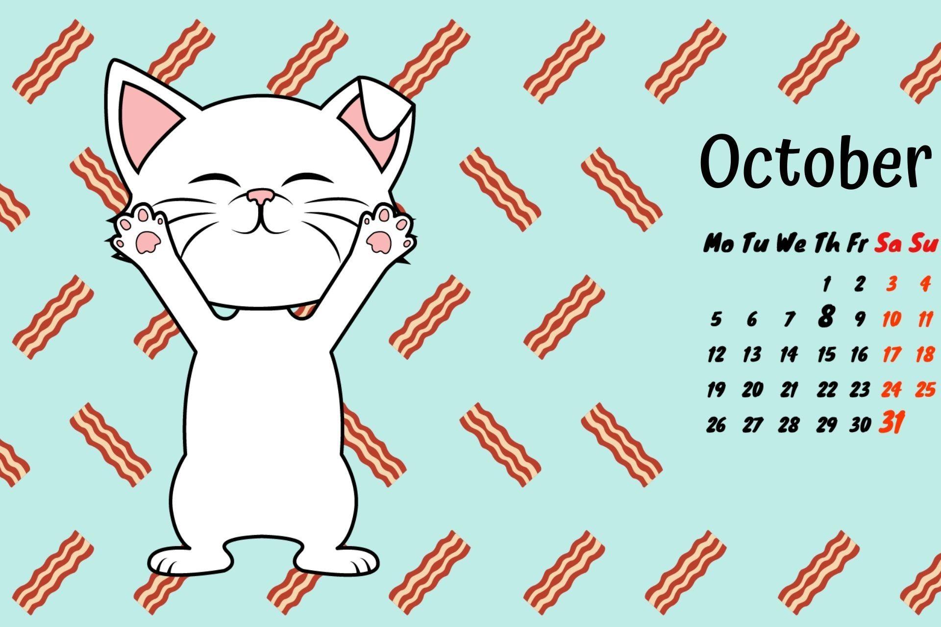 Free Printable 2018 Kitten Calendars Free Printables Printables Kitten