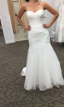 b649c7e7be6f David's Bridal Wg3791: buy this dress for a fraction of the salon price on  PreOwnedWeddingDresses.com