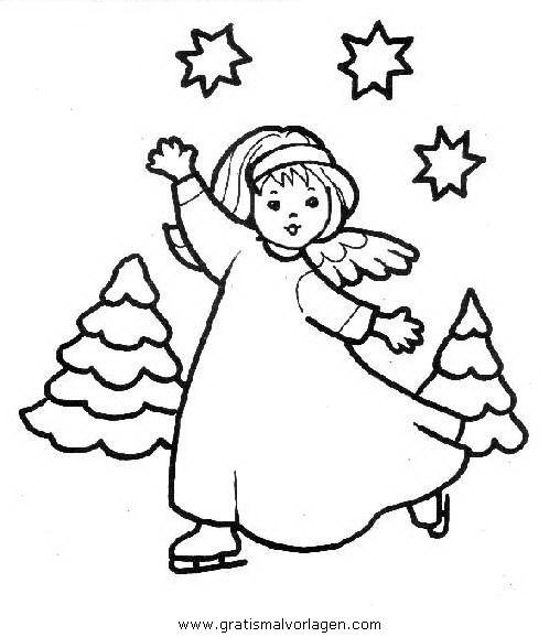 engel59 in weihnachten gratis malvorlagen  angel