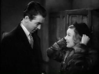 """Shop Around the Corner""  1940  a classic romance...Margaret Sullavan as Klara Novak and James Stewart as Alfred Kralik"