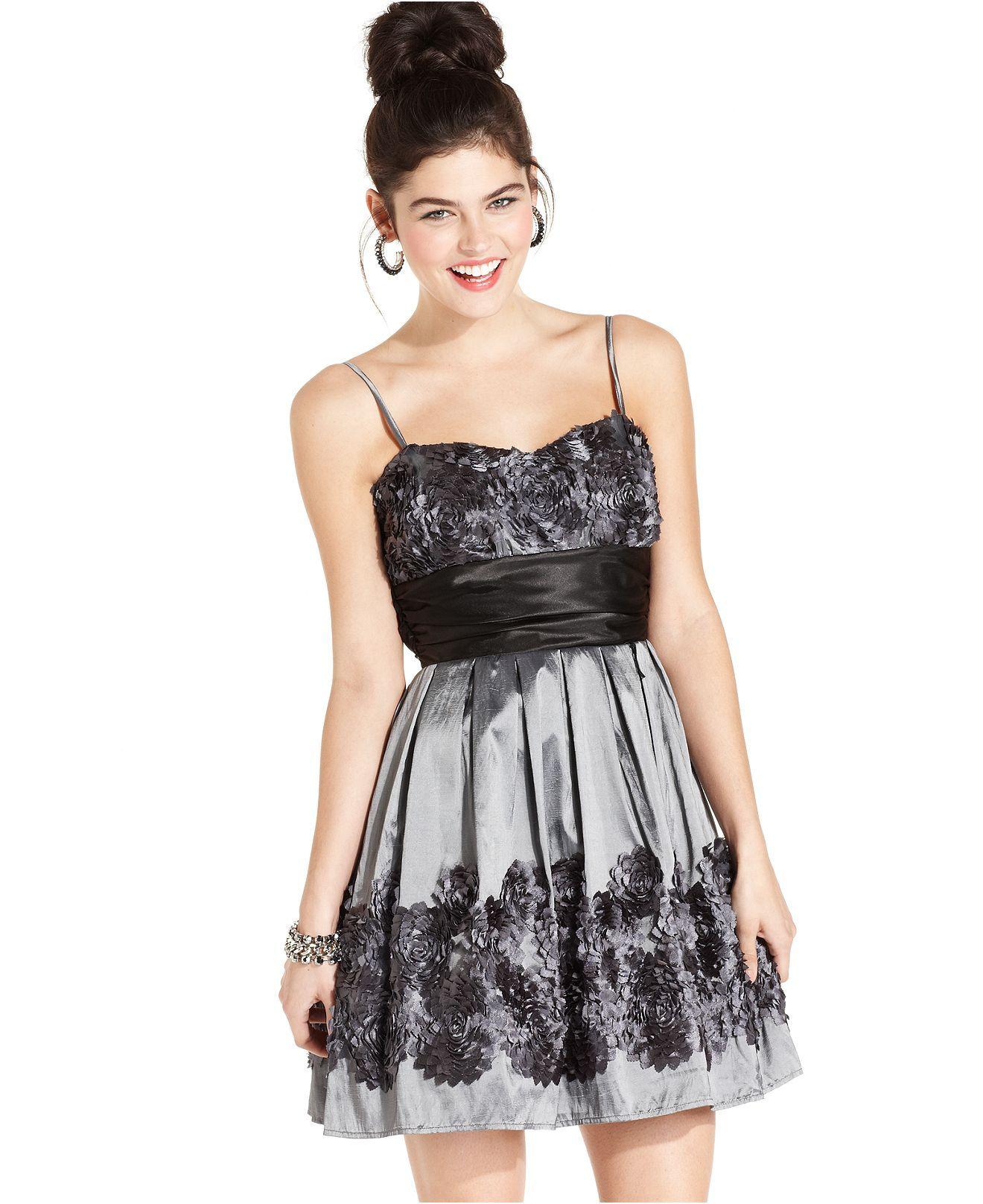 Black rose dress junior dresses dress hairstyles