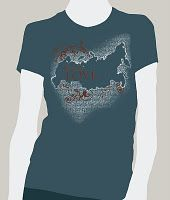 Buing this t-shirt will help make a Russian orphan a DAUGHTER.