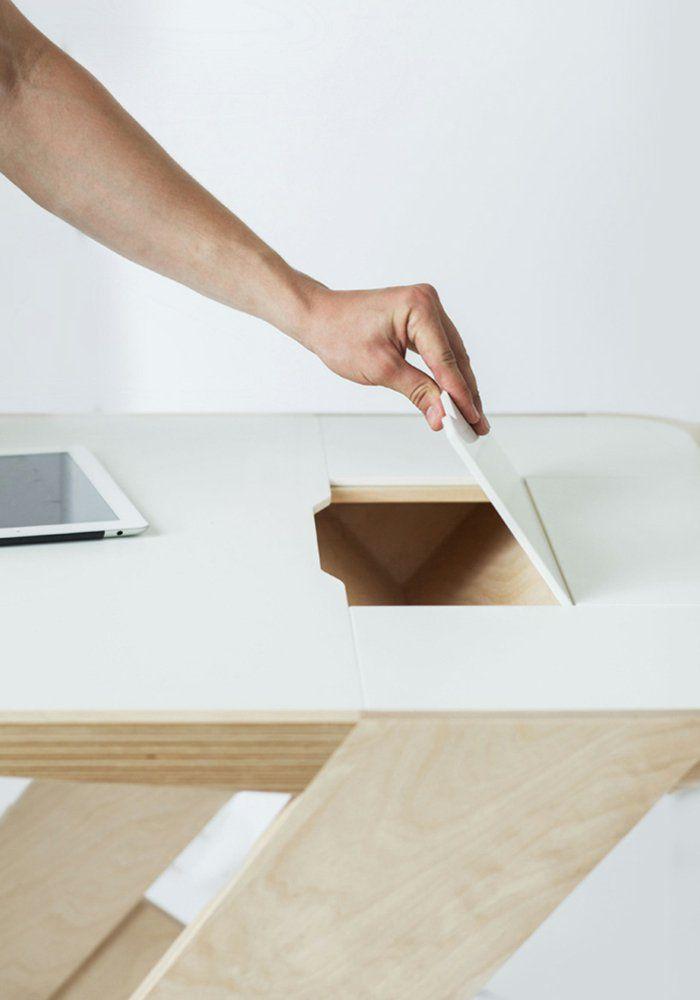 Teppich-Eck-Tisch von Alessandro Isola | Inspiration Möbel ...