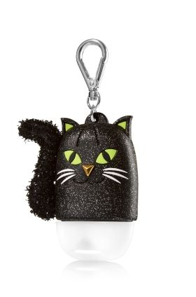 Black Cat Pocketbac Holder Bath Body Works Spook Germs