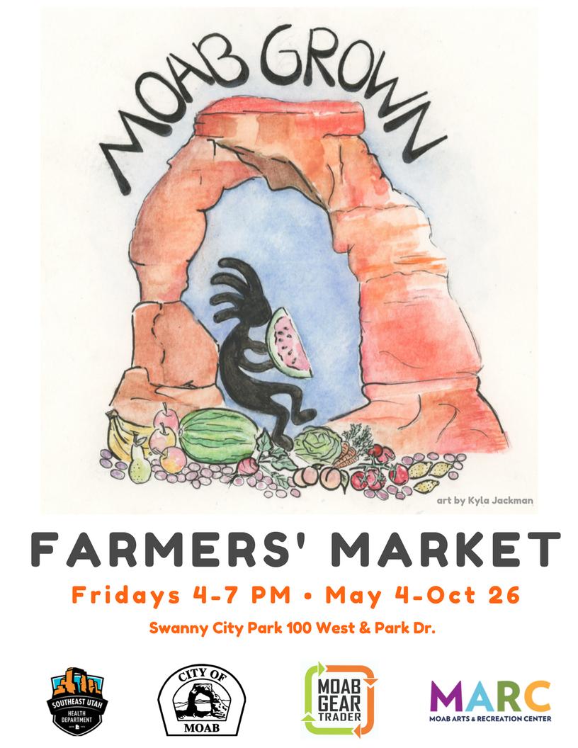 City Market Moab >> Moab Farmers Market Swanny City Park 100w Park Dr