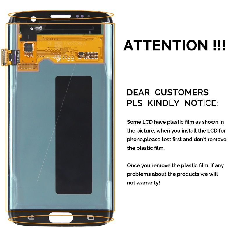 Oem Quality For Samsung Note 8 Lcd Display For Mobile Phone N9500