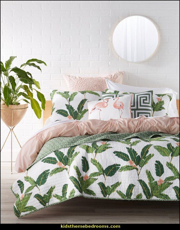 tropical bedding tropical bedrooms Tropical beach style ...