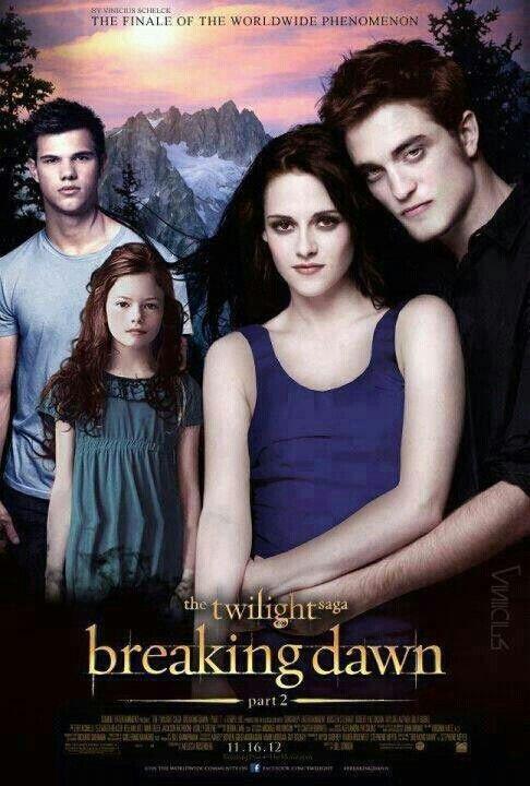 The Twilight Saga's Breaking Dawn Part 2: Jacob, Nessie, Bella and Edward