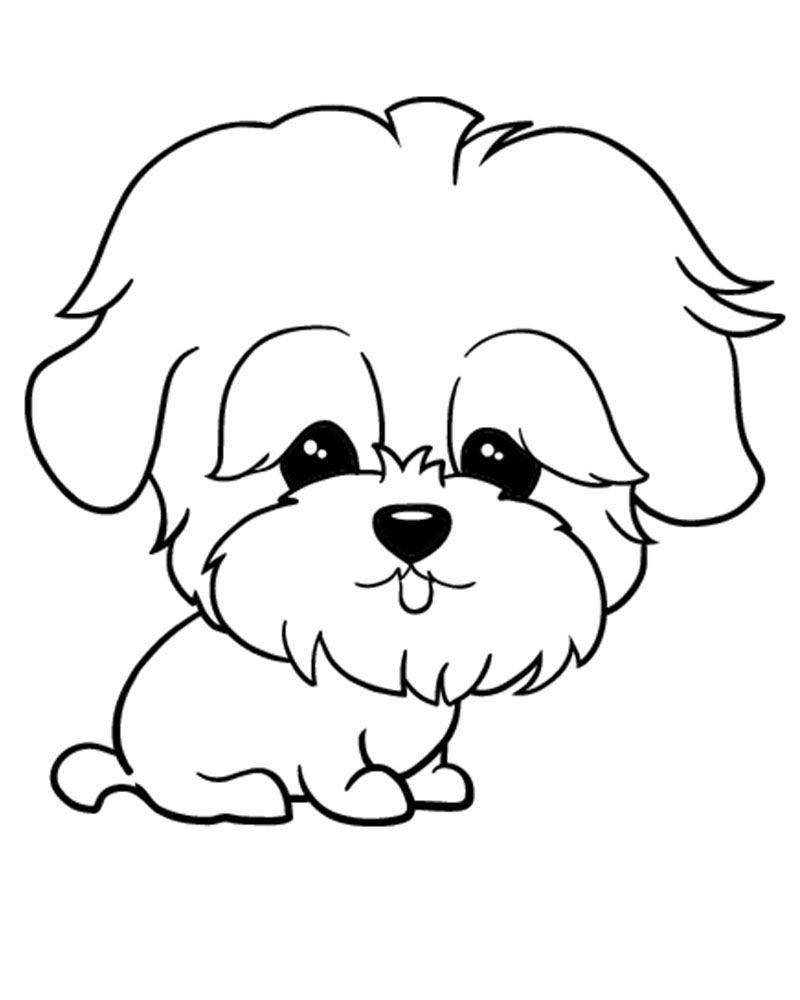 Dibujos De Perros Para Imprimir Y Colorear Dibujos De Animales
