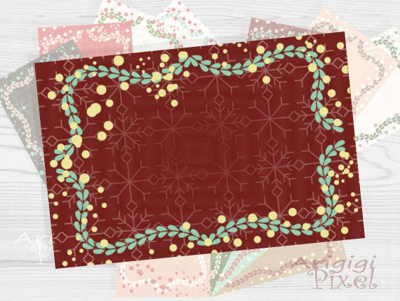 Set of 12 #Holiday #Greeting #card #frames 6 x 4 inches -