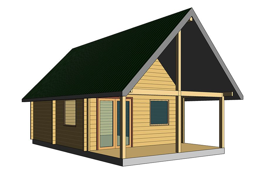 Country Cabin BC Log Cabins Cabin, Cabin loft, Roofing