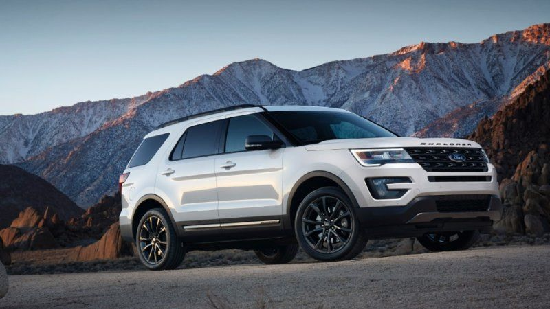 Ford Explorers from 2017 recalled over sharp seat frames