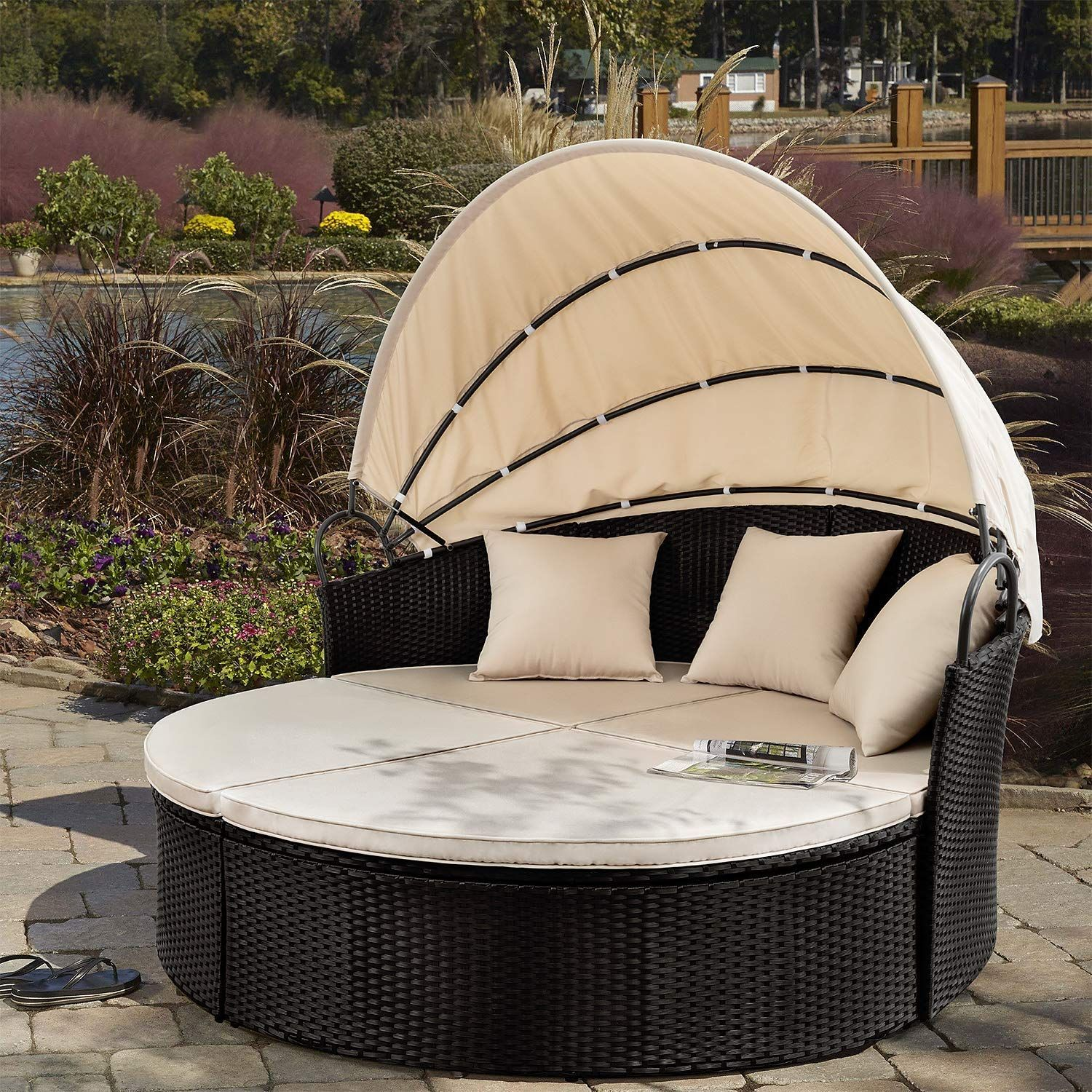 - Outdoor Wicker Daybeds & Rattan Patio Daybeds In 2020 Wicker