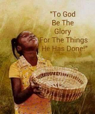 To God, Be the Glory