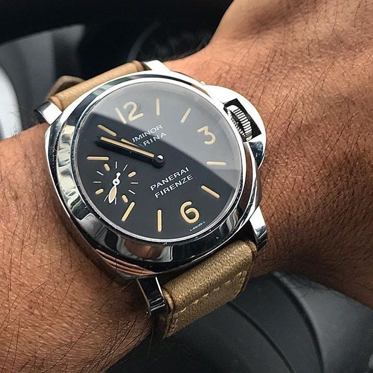 2dfc31dbcc6 The  Panerai  PAM001Q Special Edition Luminor Marina. Only 159 of these  were made available through the boutique and feature the historic store  front ...