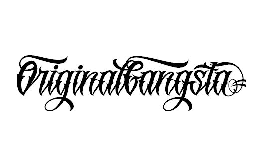 Free Tattoo Fonts | Logos | Tattoo fonts generator, Free tattoo