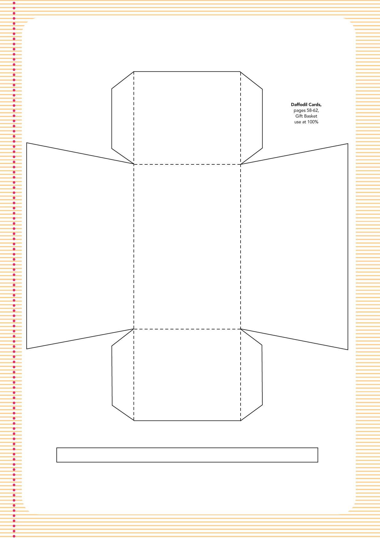 Pin124 Templates7 Jpg 1240 1754 Fabric Baskets Holiday Diy Templates