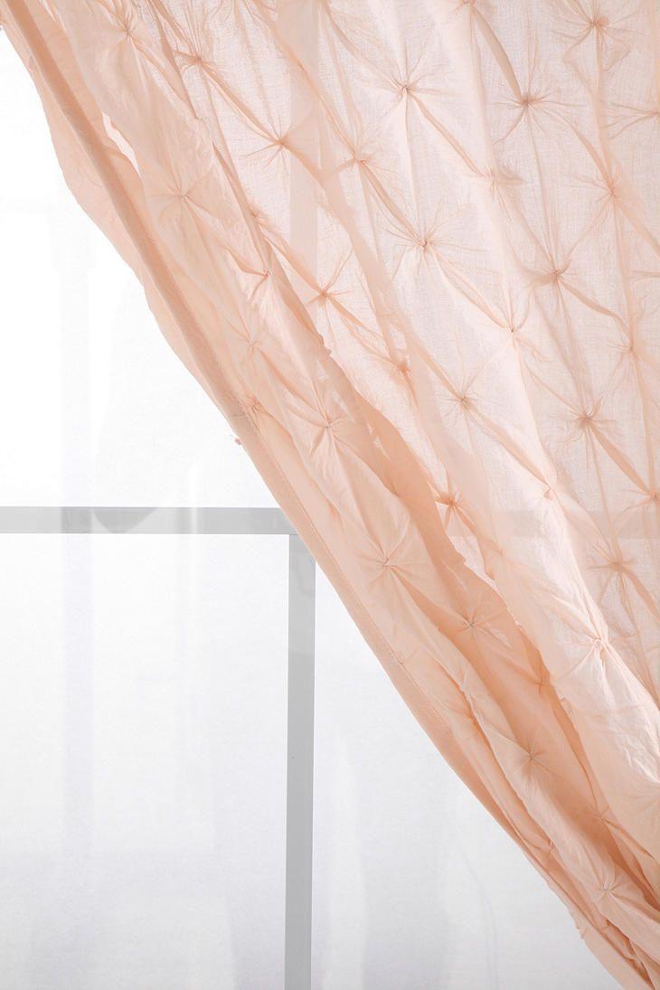 Peach Bedroom Curtains Smocked Curtain 4999 Curtains Decor Pinterest We Blush