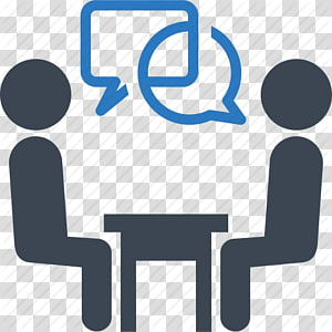 Two People Sitting Illustration Coaching Lifestyle Guru Team Leadership Goal Meeting Icons No Attribution Transpare Leadership Goals Team Leadership Clip Art