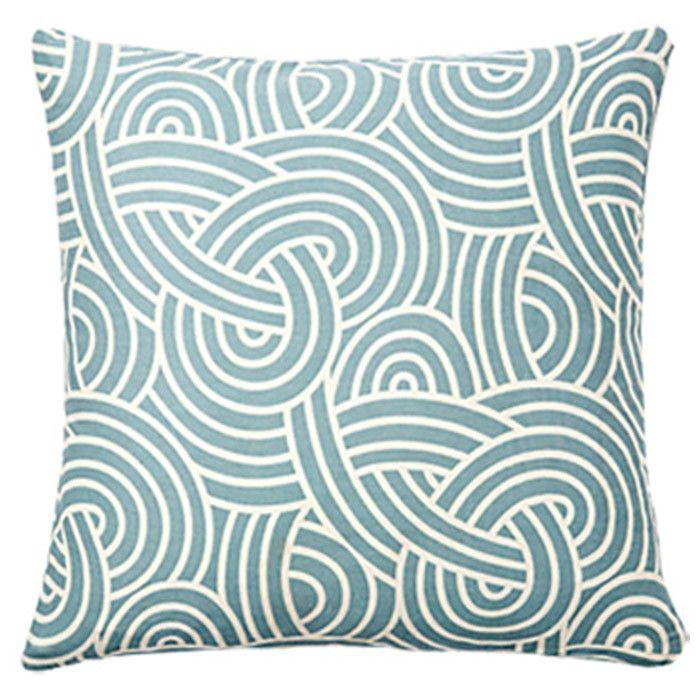 Mersin Pillow in Blue//