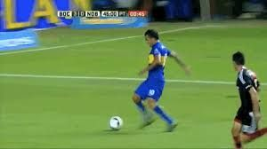 Carlos Tevez almost decapitated a goalie with his knee