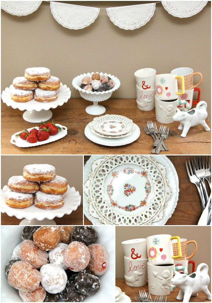 Girls' Day In Coffee Date and Dunkin' Donuts Bakery Series