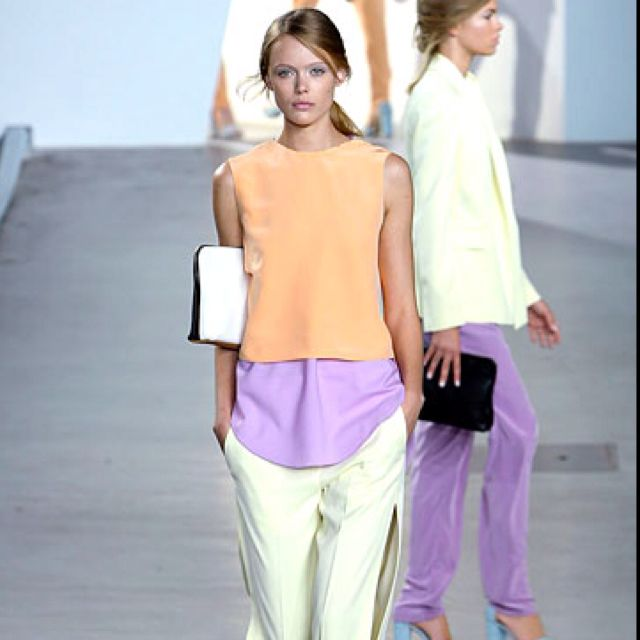 Phillip Lim, love this look for spring.