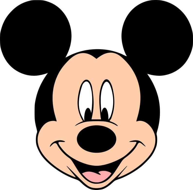 Mickey & Friends SVG file