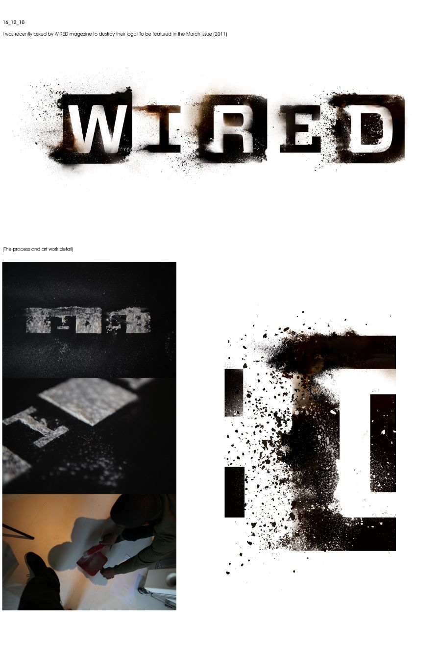 Graphic designer Jack Crossing was asked last year to destroy WIRED ...