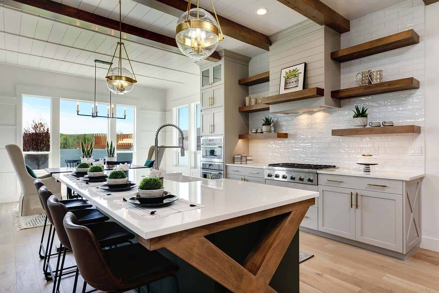 This stunning modern farmhouse in Idaho will take your breath away