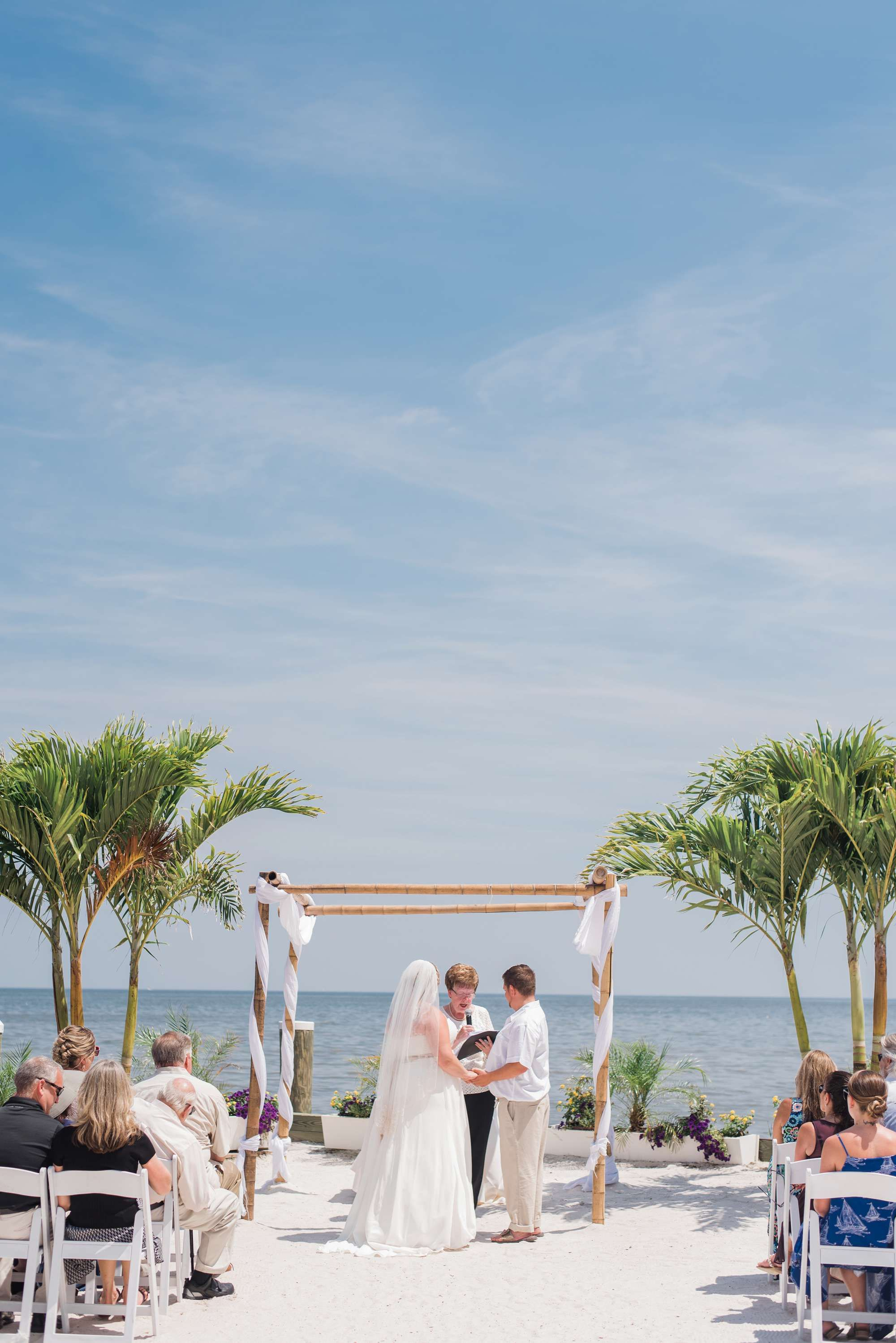 Chesapeake Beach Resort And Spa Elopement Wedding In Southern Maryland By Carla Lutz Photography