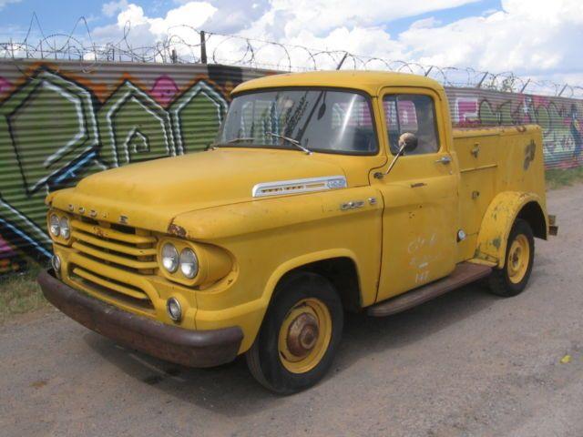 1958 Dodge D 10 Pickup Bell Telephone Utility Truck Rare Rod Scta