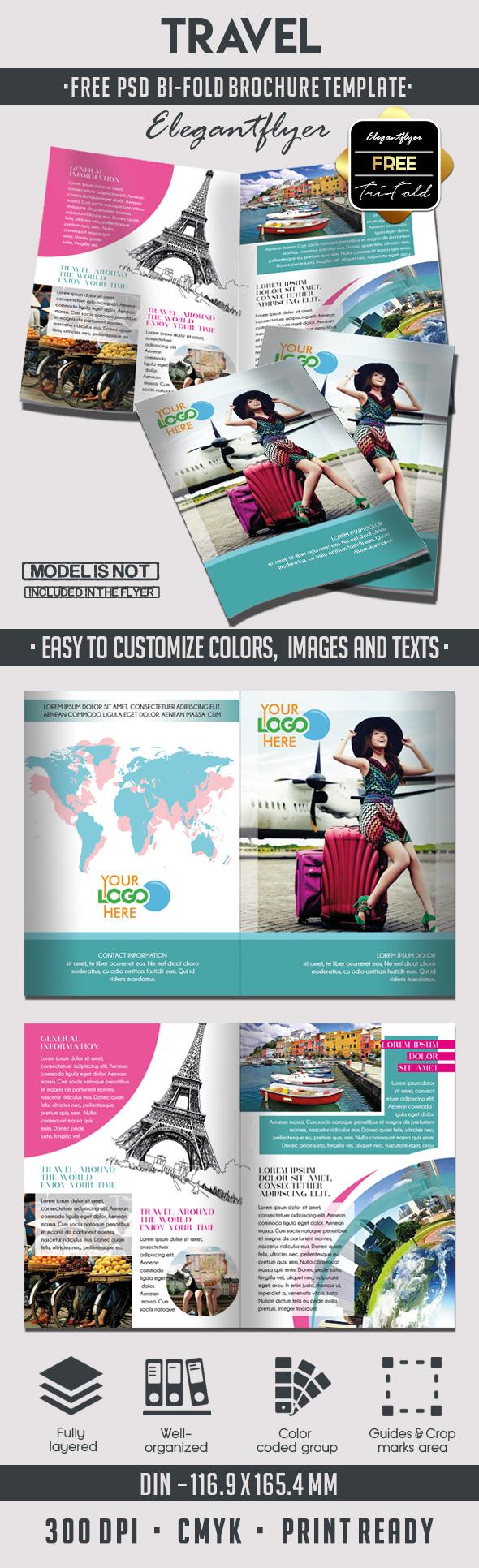 double fold brochure template