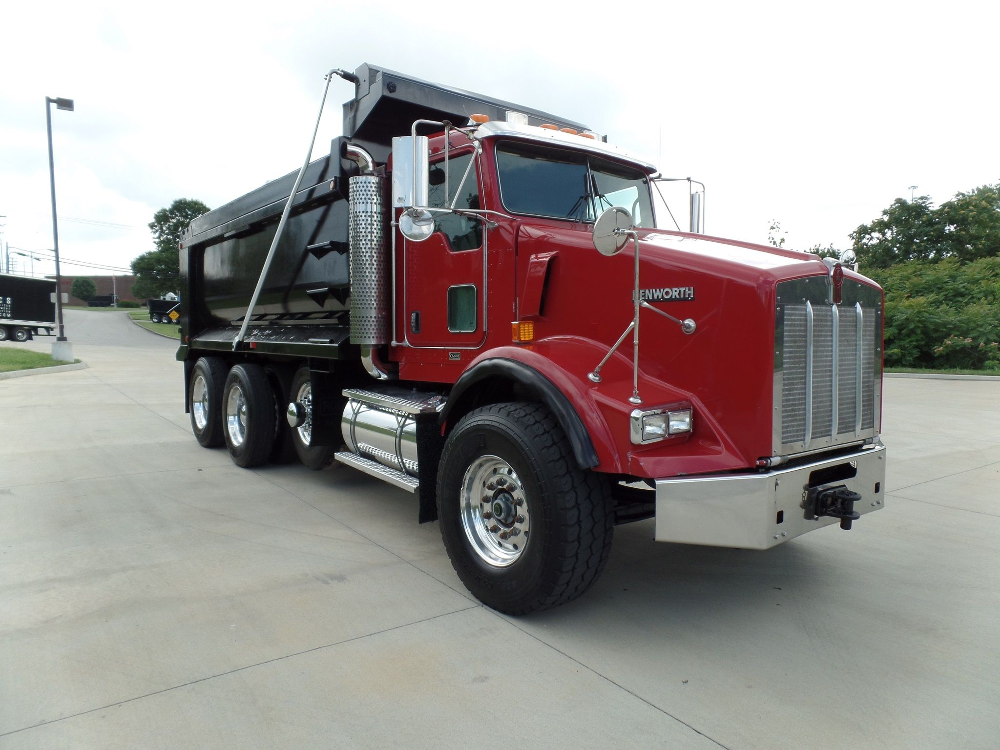 2007 kenworth t800 triaxle dump for sale
