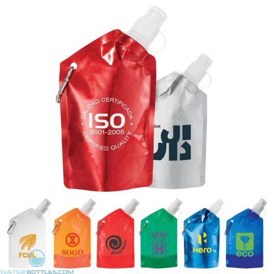 Baja Water Bag With Carabiner | 12 oz | Foldable Water