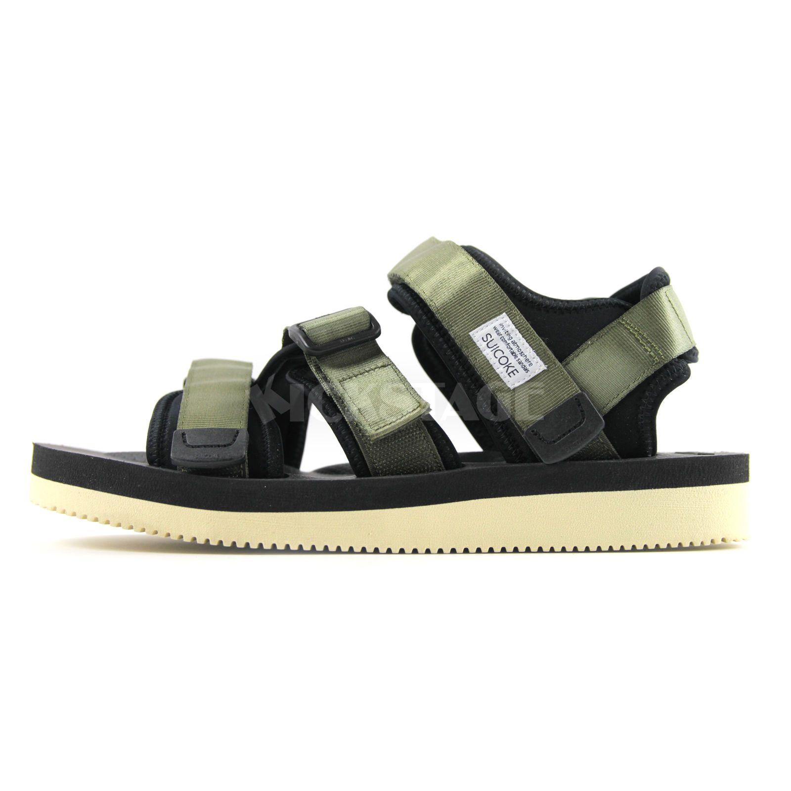 83150939abfc Suicoke KISEE-V   OG-044V Olive Green Platform Vibram Sandals Sandal  SK044VOL
